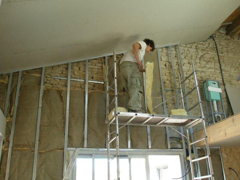 Peindre un plafond en lambris pvc vannes tarif horaire - Peindre un plafond en lambris ...